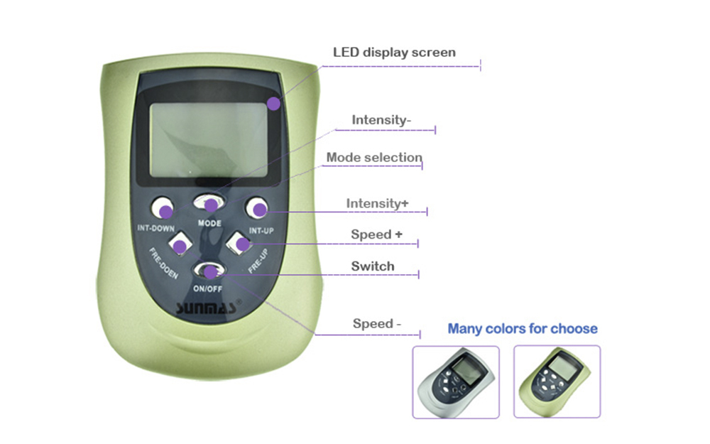 screen medical electric tens device Domas Brand company