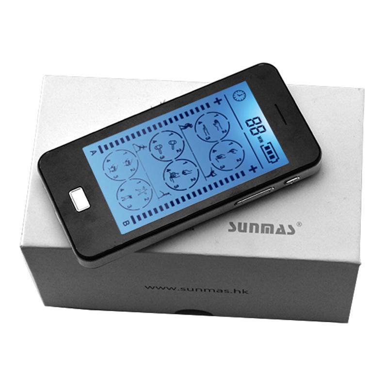 sm 9079 touch screen 2 independent dual port tens massager