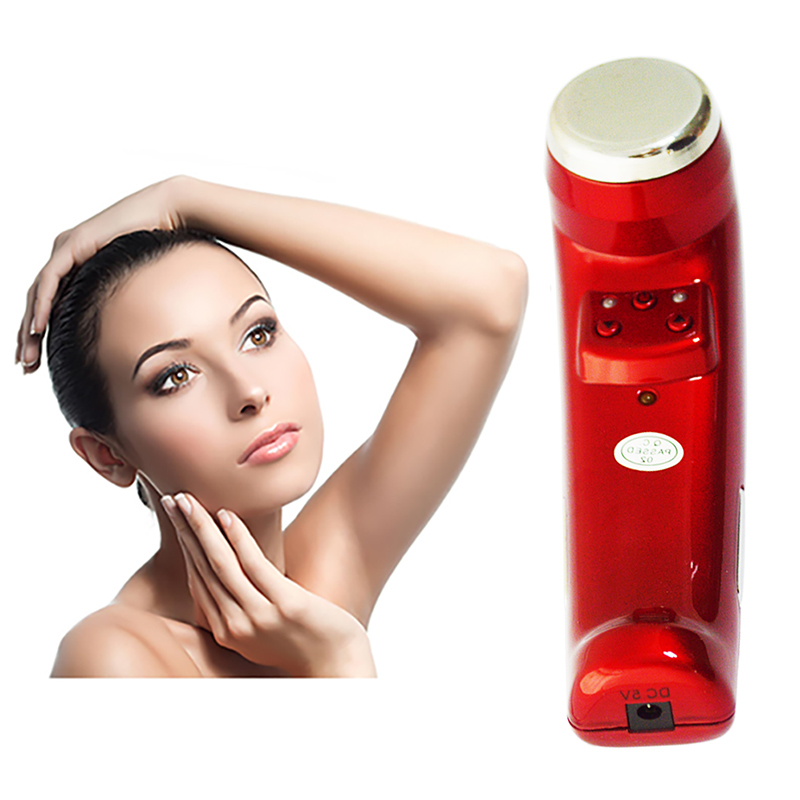 Domas Brand easy to operate multipurpose automatic stop stainless steel ultrasonic facial