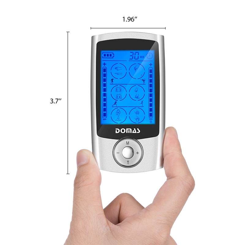 Wholesale dual port tens therapy device massager Domas Brand