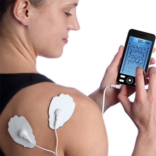 tens therapy device screen Domas Brand tens device