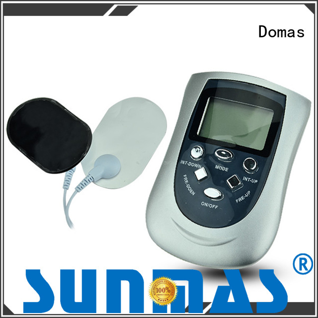 Domas Brand medical dual port tens therapy device