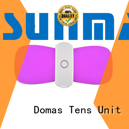 Custom therapy device wireless tens unit Domas app control