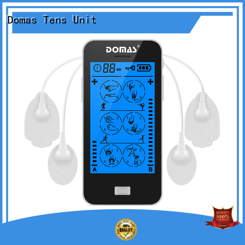 non-invasive drug-free touch screen tens unit independent Domas company