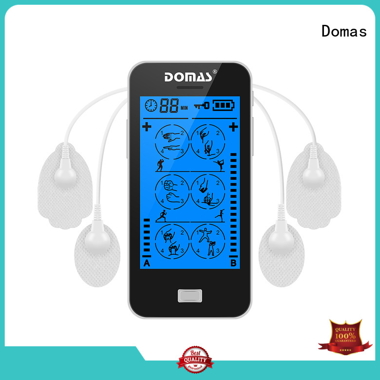 massager touch screen tens unit muscle relax Domas company