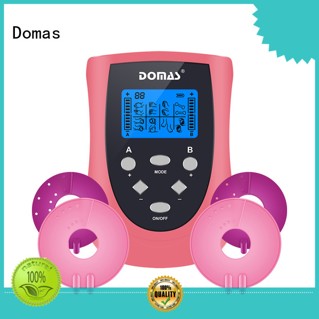 rechargeable dual port powerful massager tens therapy device Domas Brand